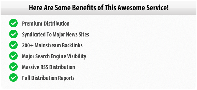 Benefits of Press Release Services