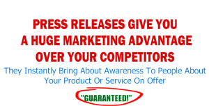 Press Release Marketing Advantage